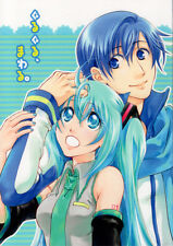 Vocaloid Light Romance Doujinshi Comic Kaito x Miku Hatsune Round and Around