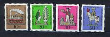 Deutschland / Bund West Germany 1969 MNH SC.B450/B453 Tin Toys