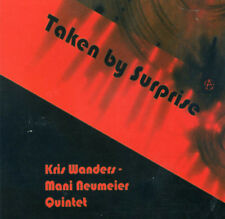 CD KRIS WANDERS MANI NEUMEIER QUINTET  Taken by Surprise