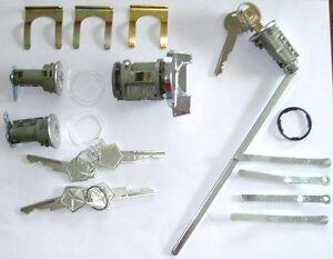 73-89 Mopar A B C E Body Challenger Road Runner Charger Dart Trunk Lock Set