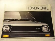 1981 Honda Civic  Sales Brochure
