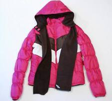 Bongo Pink Hooded Winter Coat Parka & Scarf Large L 14 16 NWT $60
