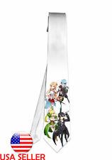 Sword Art Online Sinon Leafa Necktie Neck Tie Anime Manga Child Cosplay Gift