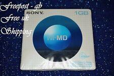 SONY hi-md 1GB vuoto MINIDISC fino a 34 ore di registrazione capacità-HMD1ga-NUOVO