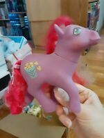 My Little Pony MLP G1 Vintage 1984 Caramel Crunch Popcorn Candy Cane Barrette
