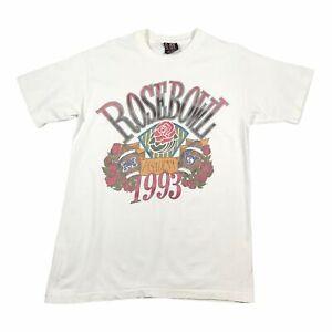 1993 Vintage ROSEBOWL PASADENA Mens T Shirt Large | Single Stitch Giant