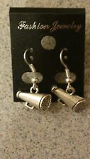 Tibet Silver Cheer Cheerleader Earrings Silver French Hooks #E139  Team Sports