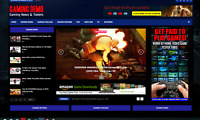 Gaming News / Affiliate product website,100% automated -Premium designed-