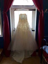 "Pronovias W1 Collection 'Triana"" Strapless Ivory Wedding Dress, 10, Unaltered."