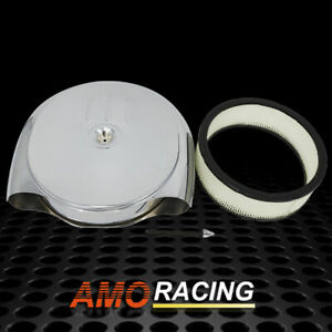 Cadillac Oldsmobile Air Cleaner Kit Chrome with Air Filter Fits Street Rod Rod
