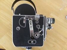 WORKING PAILLARD BOLEX H16 REFLEX 16mm MOVIE CAMERA w/ 2 lenses