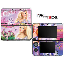 Vinyl Skin Decal Cover for Nintendo New 3DS - Barbie Odette Princess Unicorn