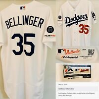 2019 CODY BELLINGER Dodgers Team Issued Jersey MLB COA Game Used? MVP YR