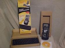 Texas instruments TI calculator keyboard for TI-83 PLUS or TI-89 + Cables