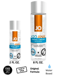 System JO H2O Anal ORIGINAL Lubricant Water Based Personal Lube
