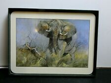 """Rare! Set of 6 Jason Placemats KOBUS MOLLER """"African Dust and Warmth"""""""