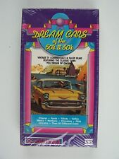 Dream Cars of the 50's & 60's VHS Video Tape New Sealed
