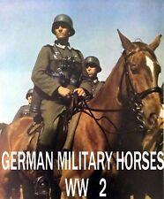 Caballos militar alemán Segunda Guerra Mundial