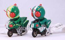 Rare 1994 Kamen rider Masked Rider J & ZO SD Q bike KeyChain