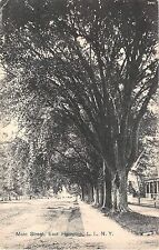 1912 Homes Main St. East Hampton LI NY view post card