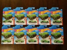 Hot Wheels 2018 2017 Camaro ZL1 Green HW Muscle Mania #1/10 (Lot of 10) *NEW*