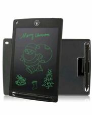 Black LCD Message Board Writing Drawing Kid Tablet Memo Note Pad Magnetic Doodle