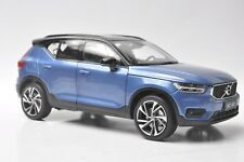Volvo XC40 car model in scale 1:18 Blue