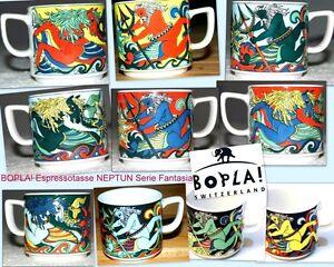 NEPTUN  BOPLA Porzellan Espressotasse stapelbar NEUWARE