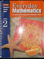 Everyday Mathematics: Teachers Lesson Guide, Vol.