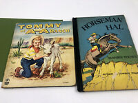 Vintage Horseman Hal 1950 Sanford Tousey & 1951 Tommy of AA Bar Ranch HC