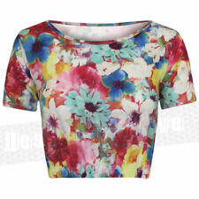 Maglie e camicie da donna floreale in seta taglia S