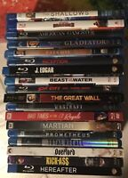 Blu-ray Lot 18 Movies Action Drama Horror Sci Fi 18 Movie Bluray And Dvd Lot