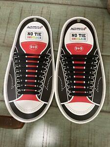 No Tie Silicone Shoelaces New