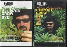 """HIGH TIMES PRODUCTIONS DVD SET """"JORGE CERVANTES' ULTIMATE GROW DVD #1 AND #2"""""""