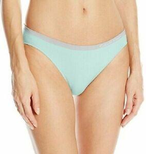 Calvin Klein Pure Seamless Bikini Panty QD3545 Green Peach Bare Thrill M
