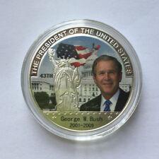 US President George W. Bush Eagle Commemorative Coin Make America Great Again