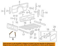 FORD OEM Front & Side Panels-Pick Up Box-Support Brace Left BC3Z9928261B
