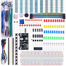 Students BEGGINERS Electronics Prototyping Components Breadboard Kit ARDUINO NEW