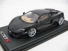 1/18 scale Tecnomodel McLaren 570S Coupè Onyx Black 2015 - T18-EX02D