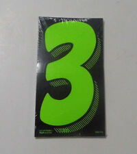 "Number 3 Large Stickers Car Sale Price Year Big 7.5"" Number Decal Window QTY 12"
