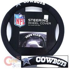 Dallas Cowboys Car Steering Wheel Cover NFL Auto Accesories- Mesh Sport Grip