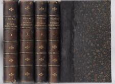 ÉTUDES PHILOSOPHIQUES sur le CHRISTIANISME par Auguste NICOLAS en 4 Tomes 1877