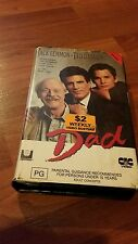 DAD - JACK LEMMON,  TED DANSON , CLAMSHELL  VHS VIDEO TAPE