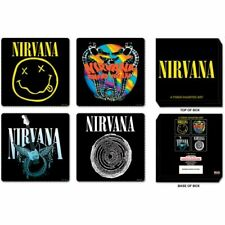 Nirvana - Four Drinks Coasters In Gift Box - New and Official Merchandise