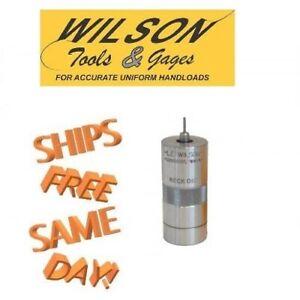 L.E. Wilson Stainless Steel Bushing Neck Sizer Die - 223 Remington - SND-223R