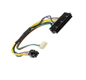 ATX 24-Pin to 6-Pin PCI-E PSU Power Adapter Cable for HP Z220 Z230 SFF server