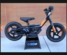 "Electric Powered Balance Bike 12"" Harley Davidson ""IRON e12"" Black  *BRAND NEW**"