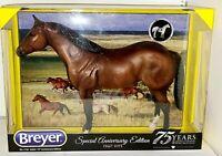 Breyer Model Horses Special 75th Anniversary Bay Quarter Horse