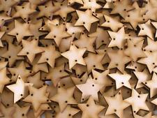 MDF Disk 2 Holes Birthday Event Calendar Star 3mm Thick 30mm Height