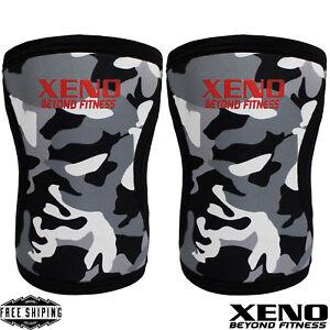 Knee Sleeves Powerlifting Weightlifting Patella Support Brace Protector (PAIR) X